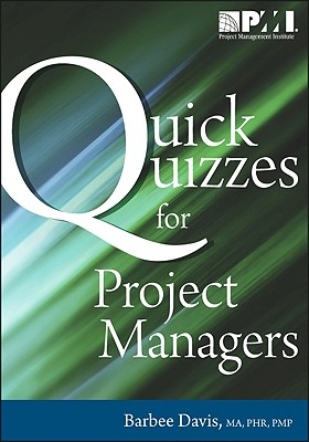$10 off Quick Quizzes for Project Managers By Davis, Barbee